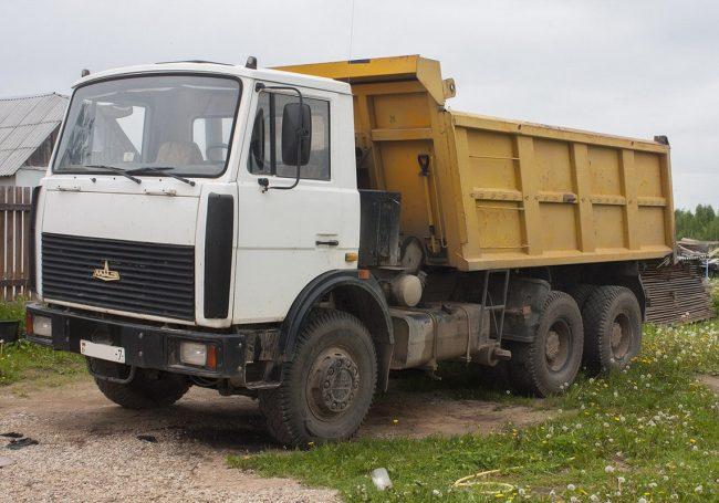 Аренда самосвала МАЗ 20 тонн в Бресте